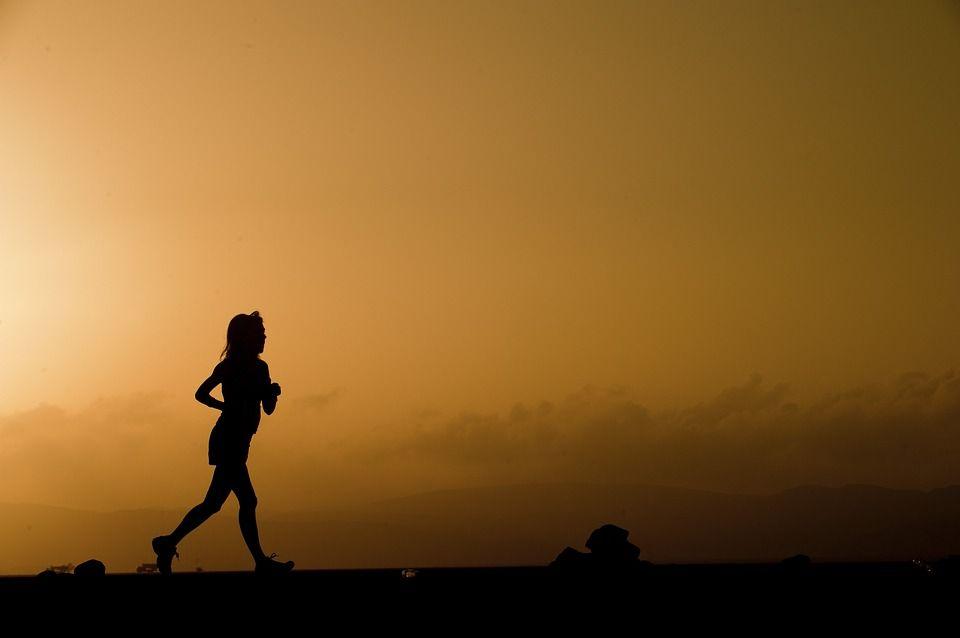 corredora sin música
