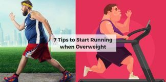Start Running when Overweight