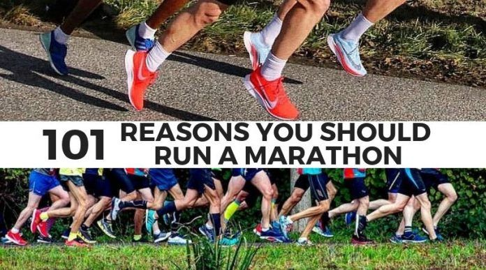 reasons to run a marathon