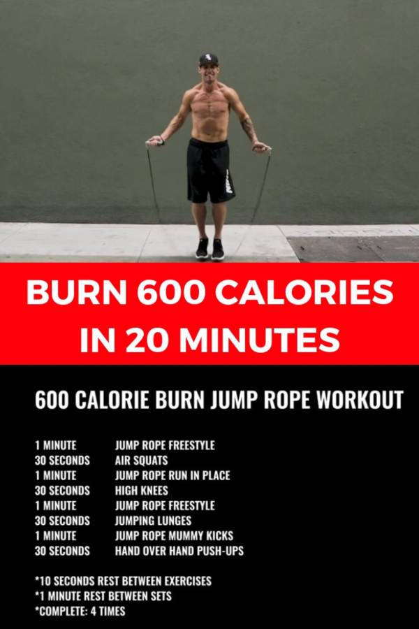 Burn 600 calories in 20 minutes with this WORKOUT [VIDEO]
