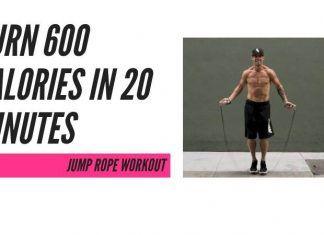 Burn CALORIES jump rope workout