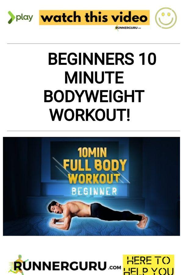 Beginners 10 Minute Bodyweight Workout!
