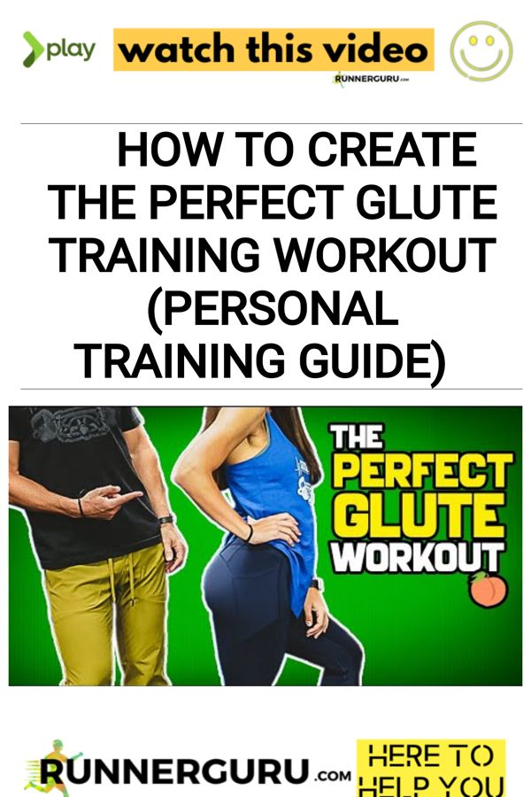 How To Create the PERFECT GLUTE TRAINING Workout (Personal Training Guide)