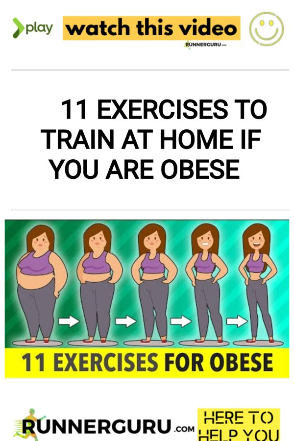 11 Exercises To Train At Home If You Are Obese