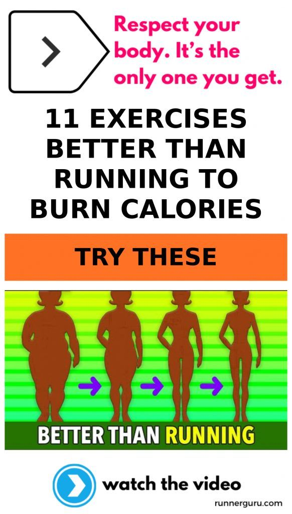 11 Exercises Better Than Running To Burn Calories