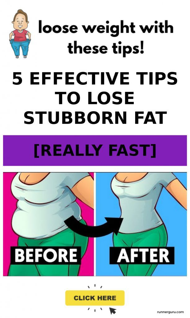 5 Effective Tips to Lose Stubborn Fat