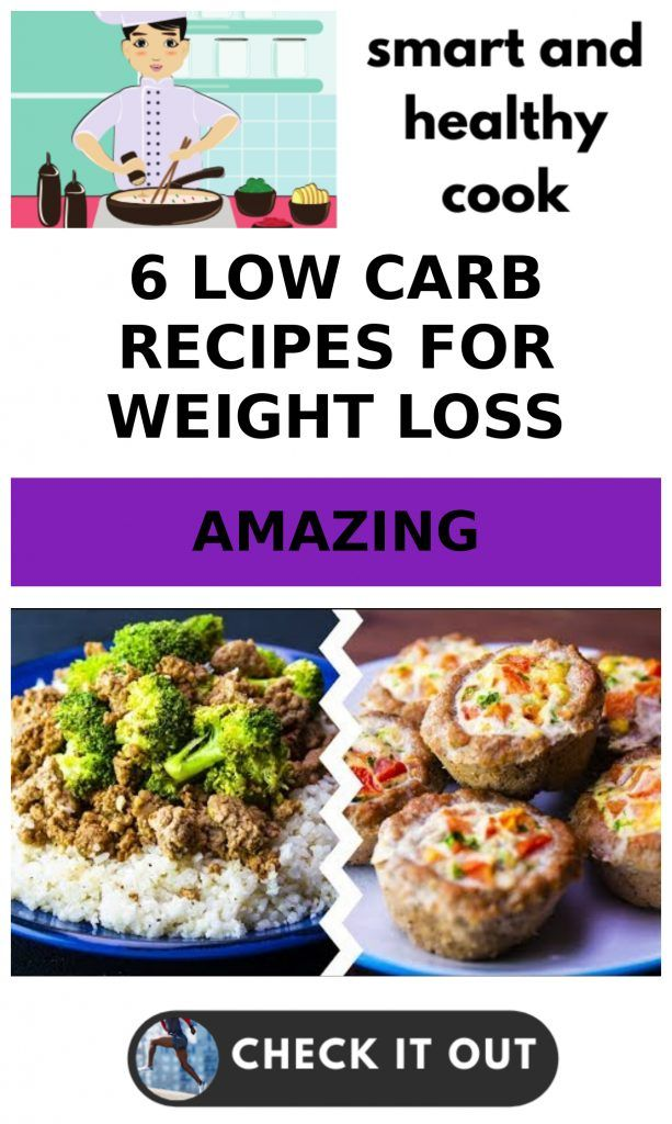 6 Low Carb Recipes For Weight Loss