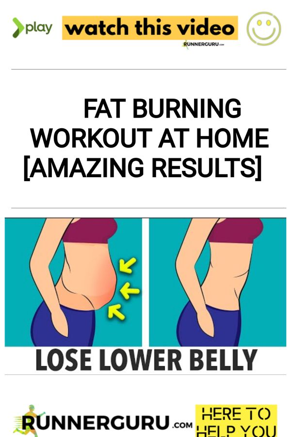 Fat Burning Workout At Home [AMAZING RESULTS]