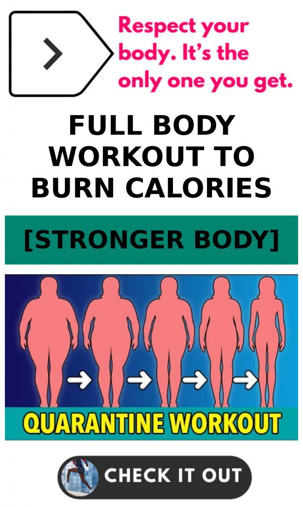 Full Body Workout To Burn Calories
