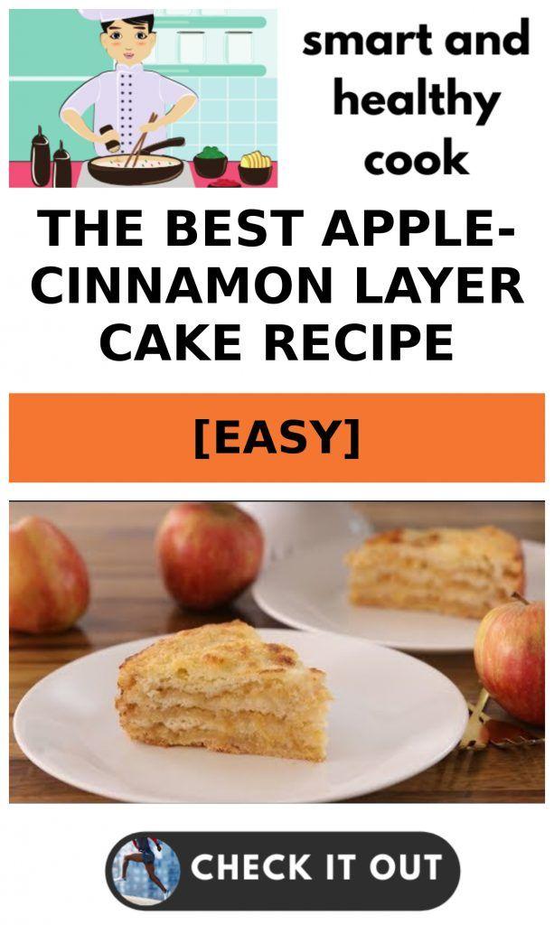 The Best Apple-Cinnamon Layer Cake RECIPE