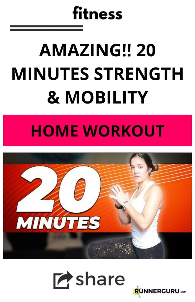 AMAZING!! 20 Minutes Strength & Mobility